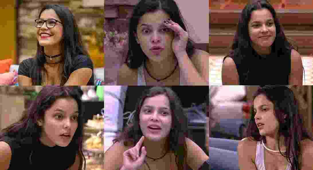 As mil faces de Emilly - Montagem/TV Globo