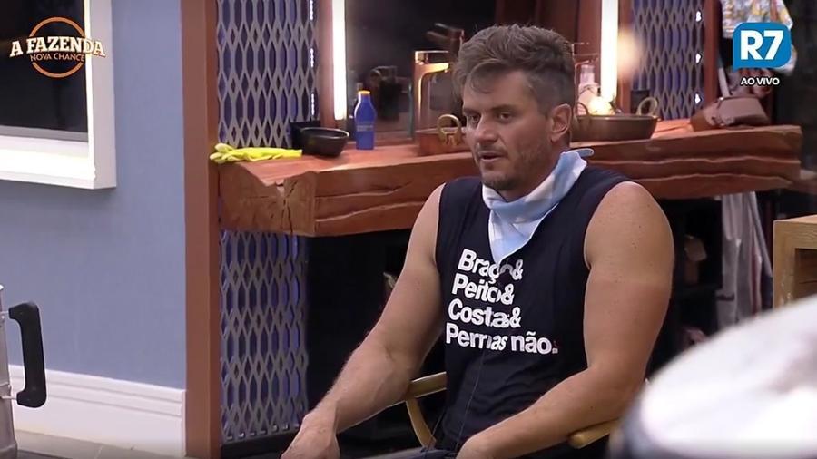 Marcos fala sobre a bebedeira de Ana Paula Minerato  - Reprodução/R7
