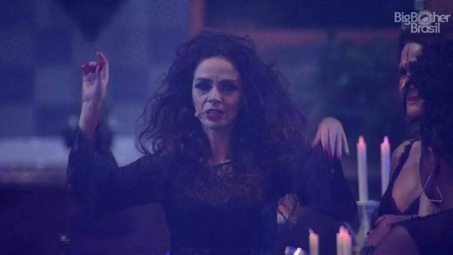 """Claudia Ohana apresenta """"Vamp - O Musical"""" no """"BBB17"""" - Reprodução/TVGlobo"""