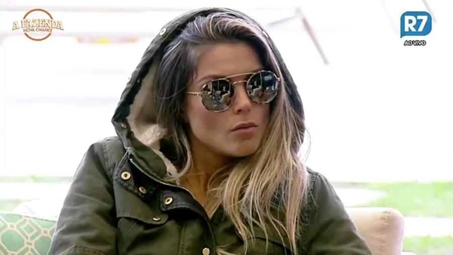 """Flávia Viana compara o """"BBB"""" com """"A Fazenda"""" - Reprodução/R7"""