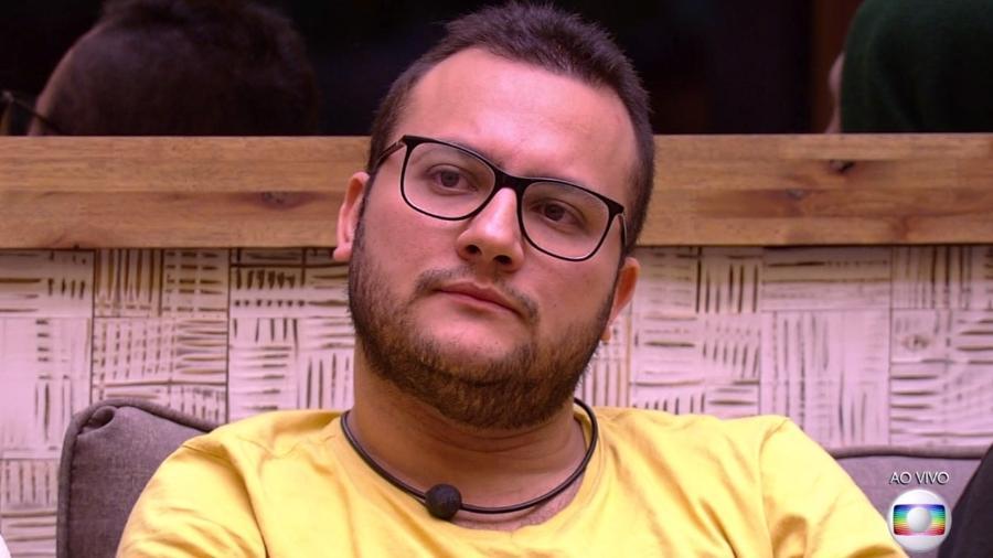Diego é um dos indicados para o oitavo paredão do programa  - Reprodução/TvGlobo