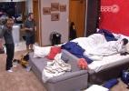 Líderes, Alan, Daniel e Tamiel miram em Harumi para o primeiro paredão - Reprodução/TV Globo