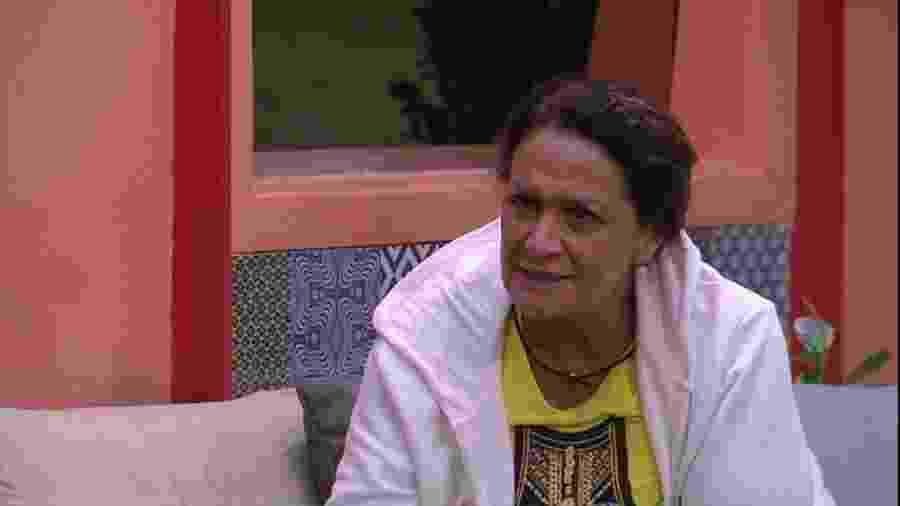 Ieda condena postura egocêntrica de Ilmar - Reprodução/TVGlobo