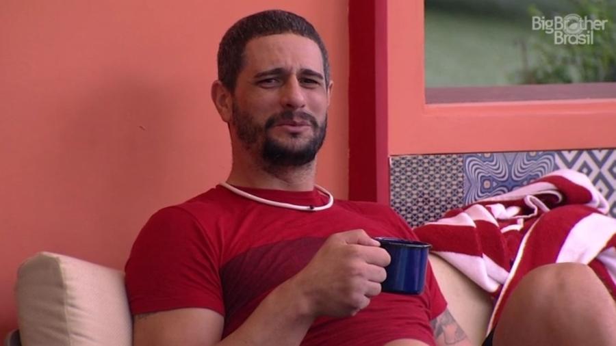 Daniel acredita que o voto de Ilmar foi influenciado por Emilly e Marcos  - Reprodução/TV Globo
