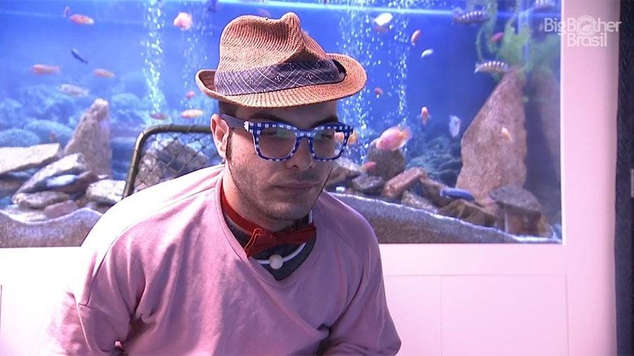 """Mahmoud faz o Raio-X no confessionário do """"BBB18"""" - Reprodução/GloboPlay"""