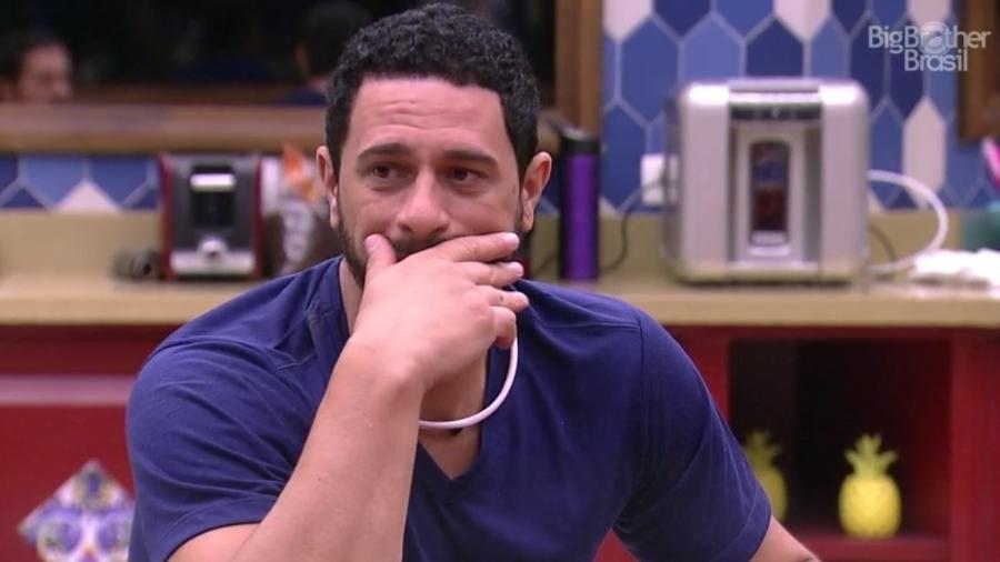 """Daniel: """"Se eu falar vai pegar mal""""  - Reprodução/Tv Globo"""