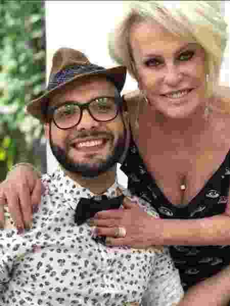 Mahmoud faz selfie com Ana Maria Braga  - Reprodução/Instagram