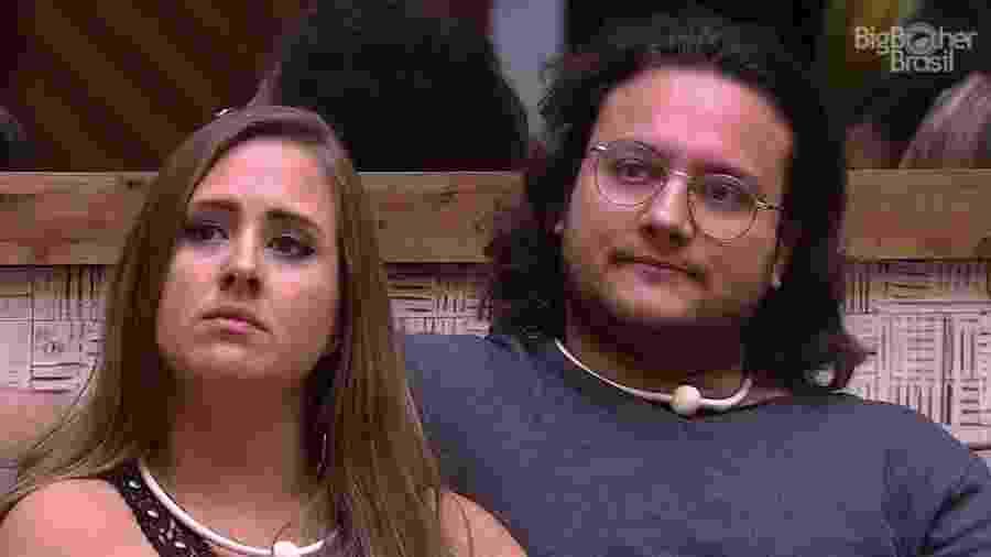 Patrícia e Diego atacam brothers antes do resultado do sétimo paredão  - Reprodução/GloboPlay