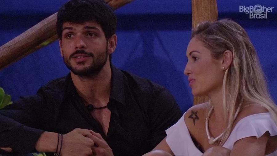 Jéssica fala com Lucas sobre Wagner - Reprodução/Globoplay