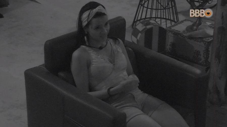 Gleici assiste à festa no quarto secreto - Reprodução/GlobosatPlay