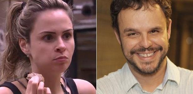 """Ana Paula, do """"BBB16"""", e Adrilles, do """"BBB15"""", se conheceram virtualmente e trocaram poemas pelo Orkut - Reprodução/Globo/Paulo Sérgio/Foto Rio News"""