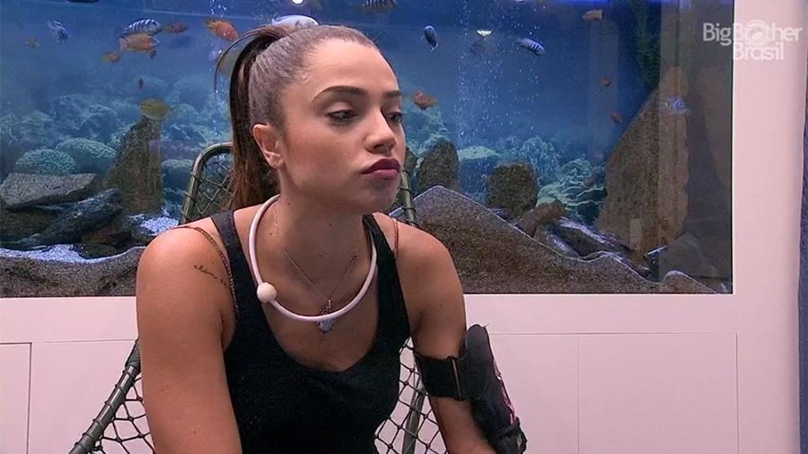 """No Raio-x, Paula afirma que quer Diego fora da casa do """"BBB18"""" - Reprodução/GloboPlay"""