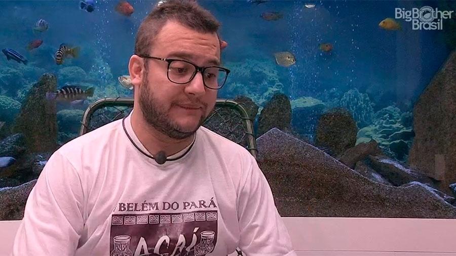 Diego faz o Raio-x no confessionário - Reprodução/GloboPlay
