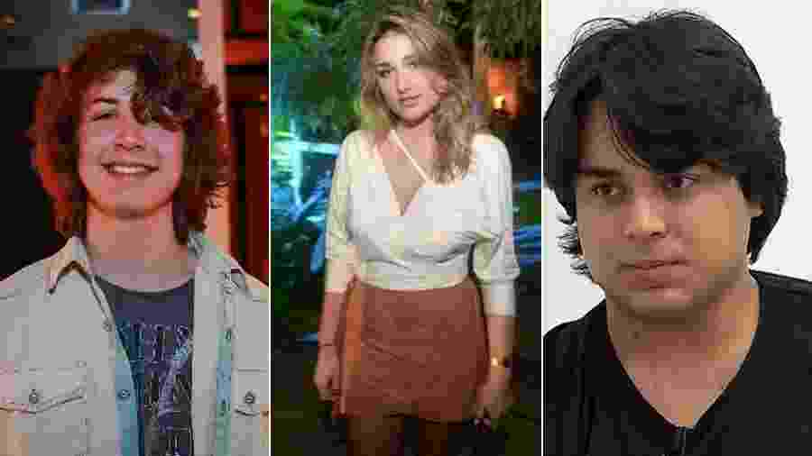 Lucas Jagger, Sasha Szafir e Igor Camargo preferem uma vida menos agitada do que a dos pais - AgNews/Divulgação