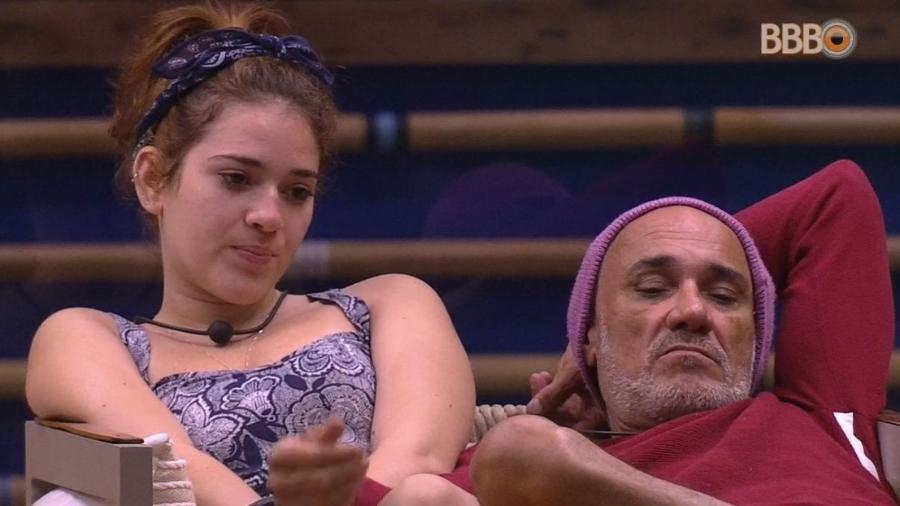 Ana Clara e Ayrton fala sobre veto do líder - Reprodução/Globoplay