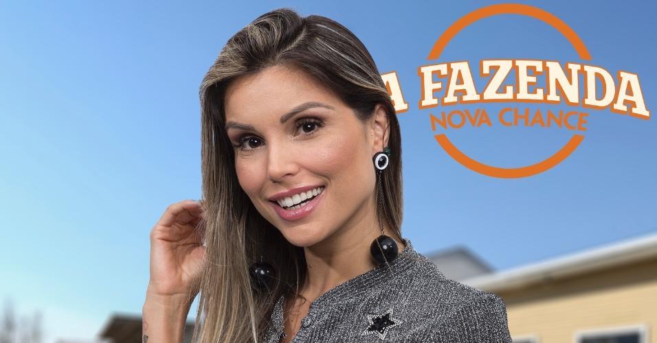 """Flávia Viana, participante de """"A Fazenda 9"""""""