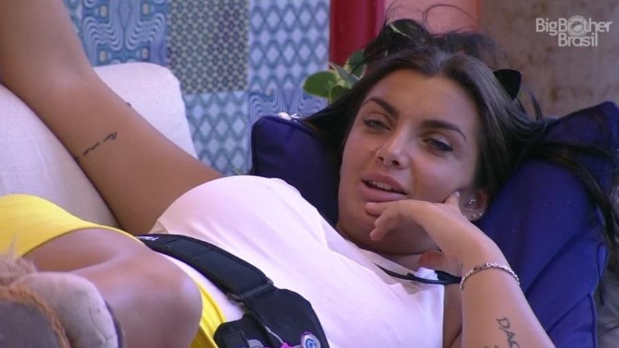 Elettra diz ser sonâmbula - Reprodução/ TV Globo