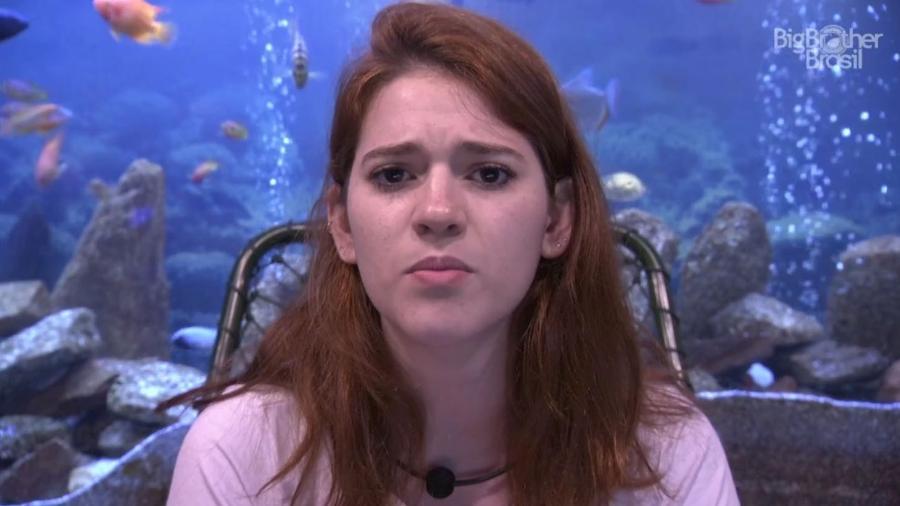 Ana Clara participa de entrevista no confessionário  - Reprodução/GloboPlay