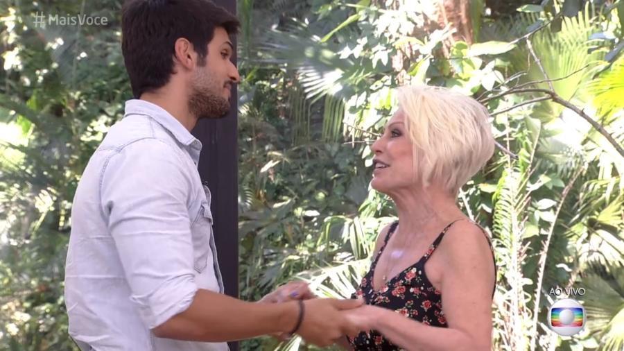 Lucas pede ajuda de Ana Maria Braga - Reprodução/Globo