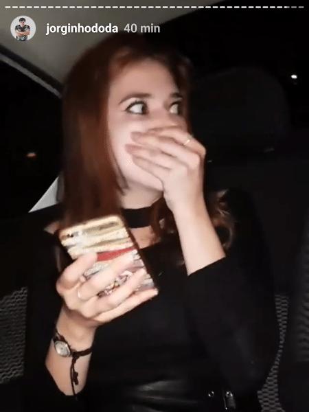 """Ana Clara acessa Instagram pela primeira vez após """"BBB"""" - Reprodução/Instagram"""