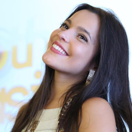 Emilly fez homenagem para a mãe - Marco Antonio Teixeira/UOL