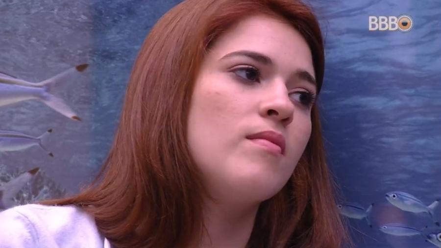 Ana Clara fala sobre medo do paredão em conversa com Gleici - Reprodução/Globoplay