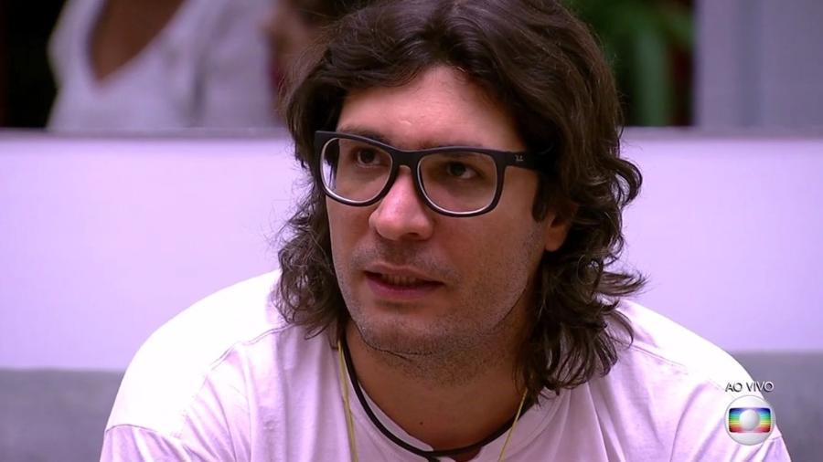 Ilmar indica Daniel para o novo paredão  - Reprodução/TV Globo