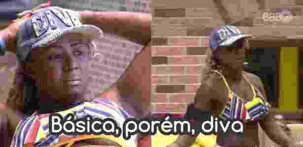 Diva Adélia 2 - Reprodução/Globo e Montagem/Diva Depressão - Reprodução/Globo e Montagem/Diva Depressão
