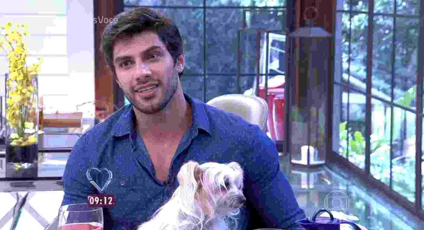 """Renan participa do """"Mais Você"""" e fala sobre o que ainda sente pela ex-namorada: """"Quero casar, construir a minha família"""" - Reprodução/Globo"""