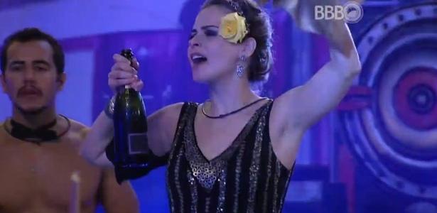 Ana Paula deixou a casa no último sábado - Reprodução/TV Globo