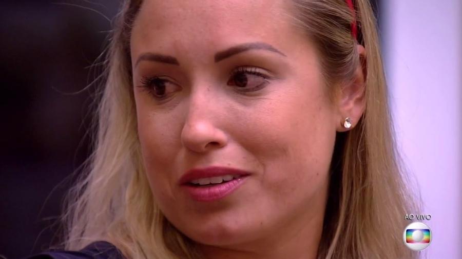 Jéssica fala com Ayrton e Ana Clara após ser indicada ao paredão  - Reprodução/TvGlobo