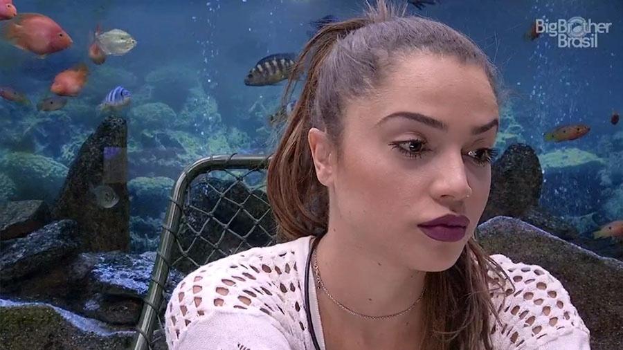 Paula diz que pretende conversar com Ana Clara sobre voto na família Lima - Reprodução/GloboPlay