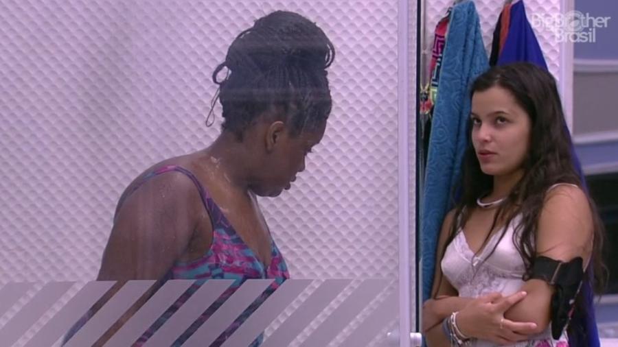 Emilly acredita que Elis será indicado ao paredão pela casa - Reprodução/ TV Globo