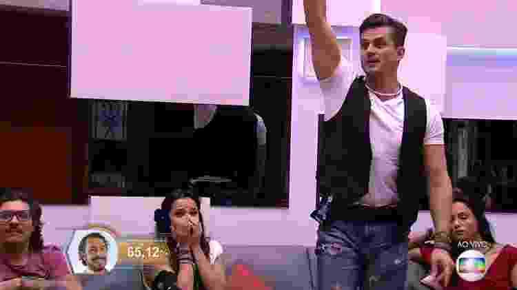 Marcos e Rômulo - Reprodução/TV Globo - Reprodução/TV Globo