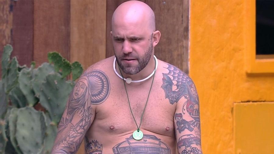 """Caruso, participante do """"BBB18"""" - Reprodução/GloboPlay"""