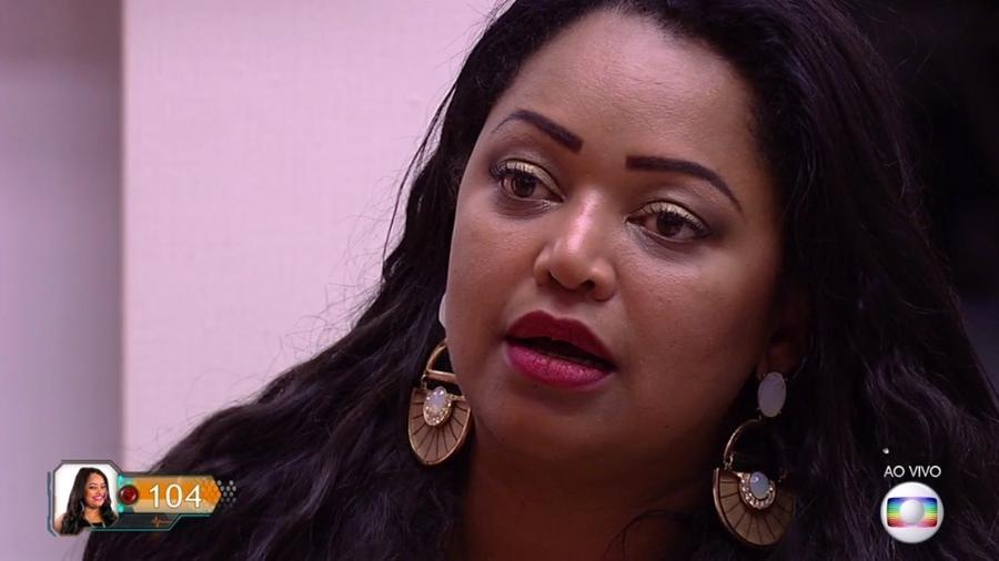 Elis fica nervosa antes do resultado do paredão - Reprodução/TV Globo