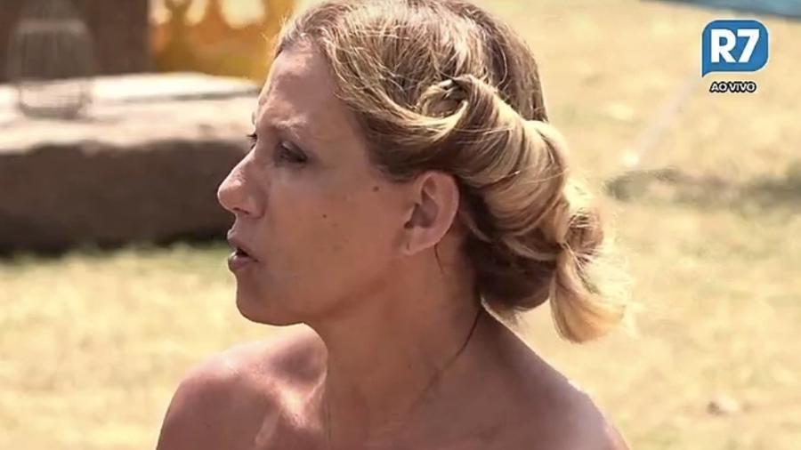 Rita Cadillac chama Conrado de mau-caráter - Reprodução/R7