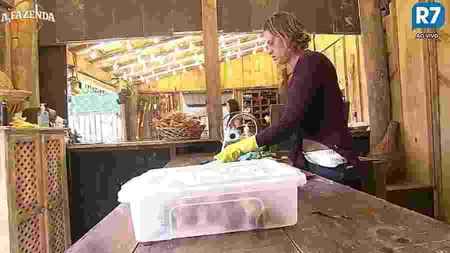Aritana usa pia do escargot - Reprodução/R7