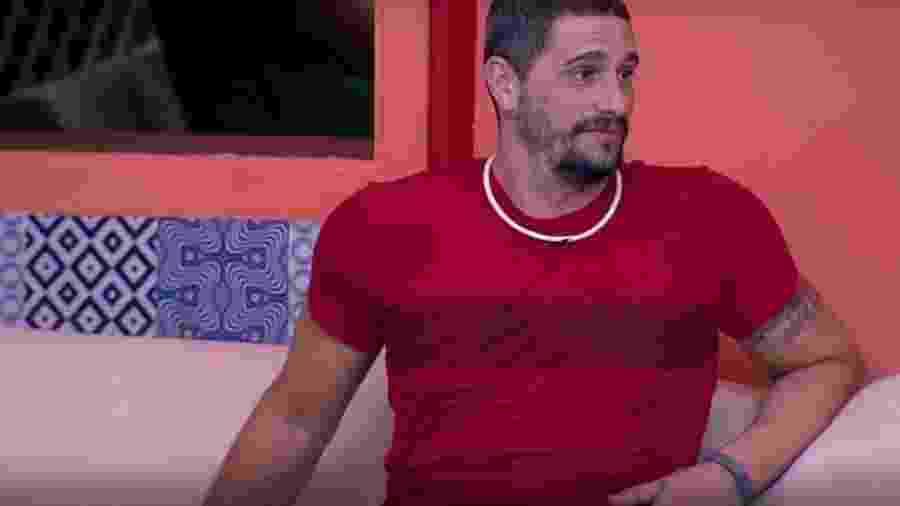 Daniel teme futuro fora da casa - Reprodução/TVGlobo
