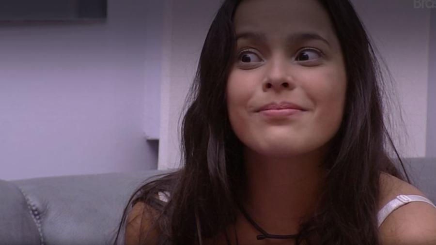 Emilly fiz que música que lançou Henrique & Juliano custou R$ 5 mil  - Reprodução/TV Globo