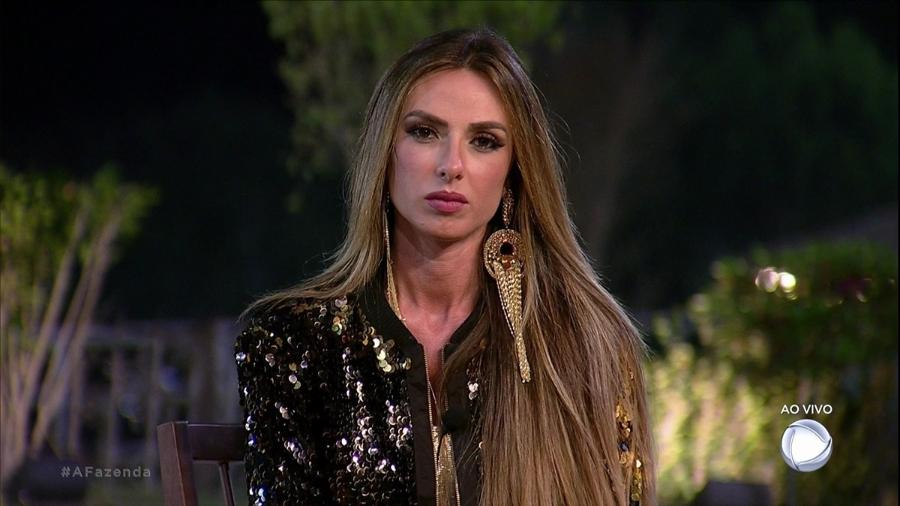 """Nicole Bahls foi a primeira eliminada de """"A Fazenda 9"""" - Reprodução/Record"""