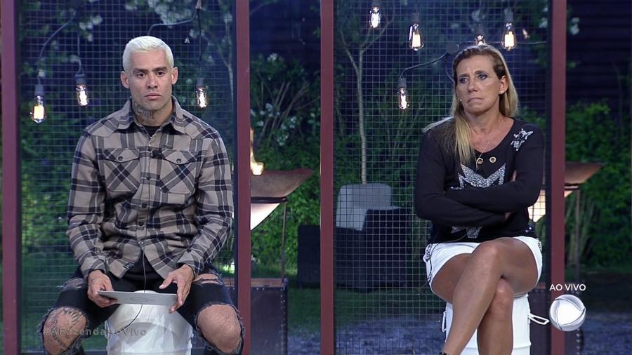 """Yuri Fernandas e Rita Cadillac estão na décima primeira """"roça""""  - Reprodução/Record"""