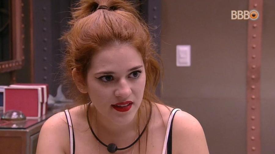 Ana Clara relembra voto de Paula - Reprodução/GlobosatPlay
