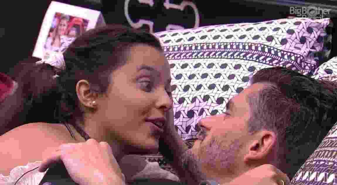 """Emilly diz ter """"dó"""" de Manoel - Reprodução/TVGlobo"""