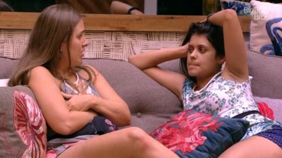 Patrícia e Ana Paula criticam família Lima - Reprodução/Tv Globo