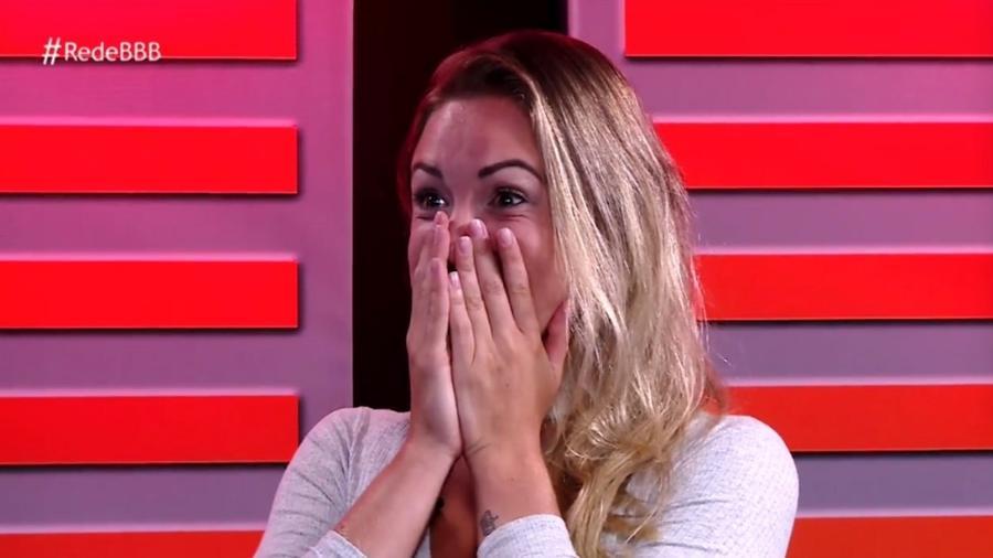 """Após ser eliminada, Jéssica participa do programa """"RedeBBB"""" - Reprodução/Gshow"""