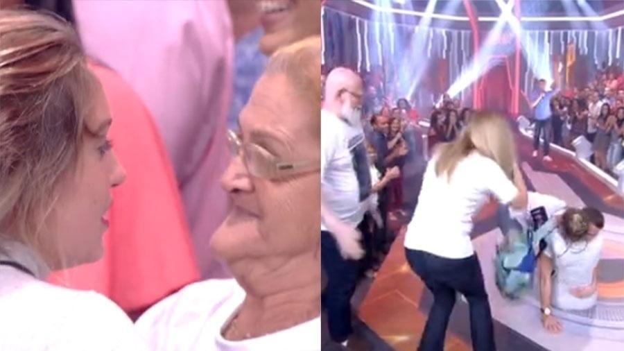 Dona Maria da Penha, conhecida como Pepeca, participou da eliminação de Jéssica - Reprodução/Globo