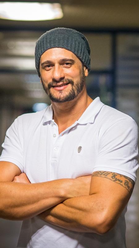 "Daniel posa para foto depois de deixar o ""BBB17"" - Globo/ Paulo Belote"