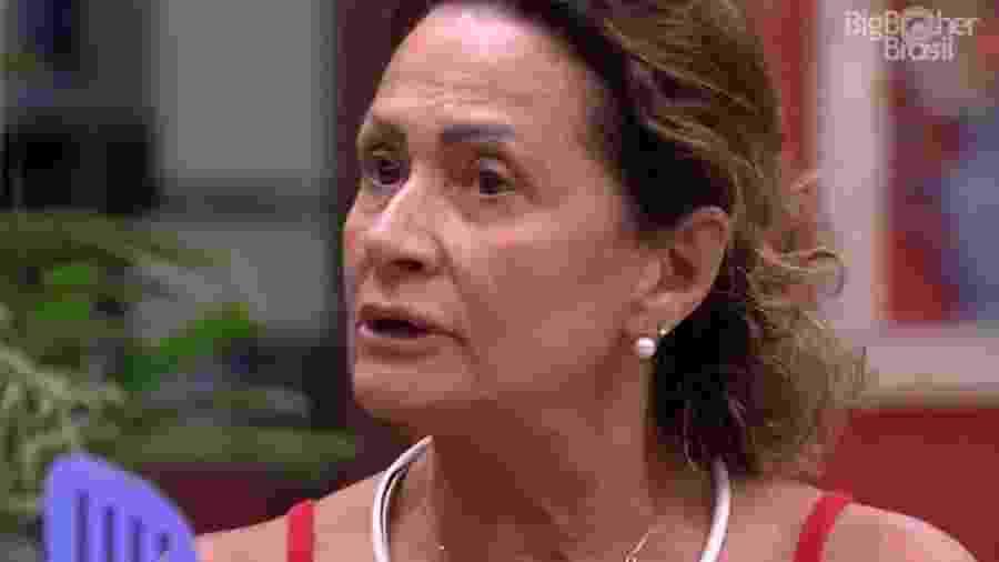 Ieda não acredita em Ilmar em próximo paredão - Reprodução/TV Globo