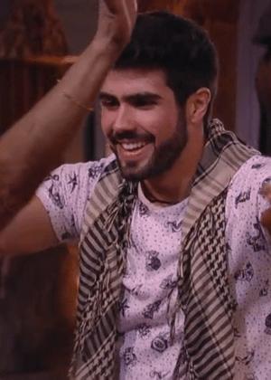 """Juliano Laham fingiu ser um participante do Líbano no """"BBB16"""" - Reprodução/TV Globo"""